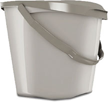 the handy kitchen pail u2013 use it to store your food scraps until you empty it into the brown food scraps dedicated cart or the food scraps side of your gray